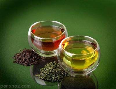 چای سیاه یا چای سبز مسئله این است