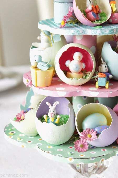 جدیدترین مدل های تزیین تخم مرغ سفره هفت سین
