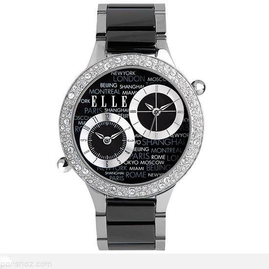 مدل های ساعت مچی زنانه شیک برند Elle