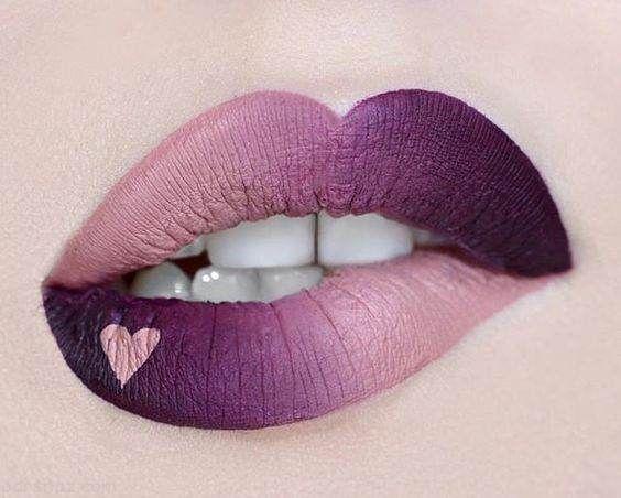 مدل های جذاب و زیبای آرایش لب برای بهار