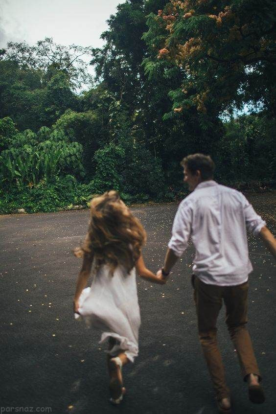 عکس های عاشقانه و احساسی زوج ها بهار امسال