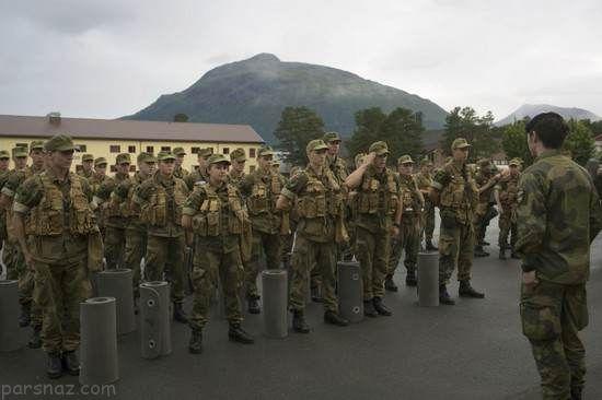 عکس های دیدنی از دختران جذاب ارتش نروژ