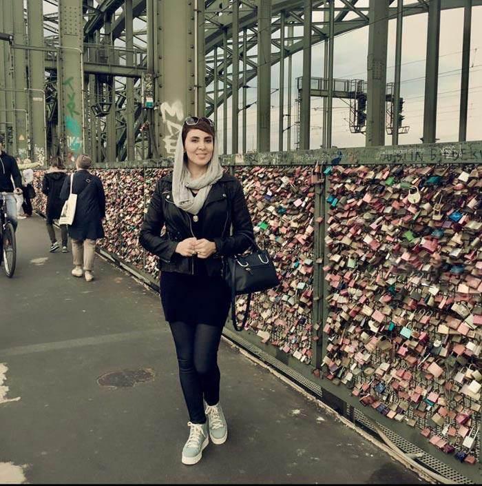 تصاویر خوش گذرانی های لیلا بلوکات در اروپا