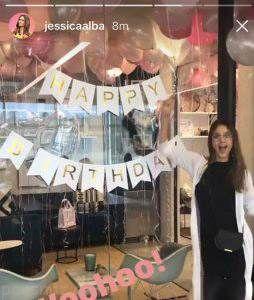 عکس های تولد خصوصی جسیکا آلبا بازیگر جذاب