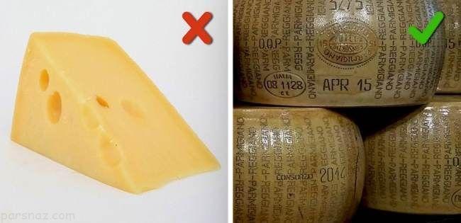 مواد غذایی تقلبی در فروشگاه ها را تشخیص دهیم