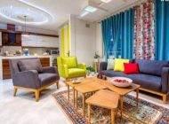 دکوراسیون زیبای خانه محسن و رها با رنگ های شاد