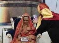 تصاویر مراسم ازدواج دختر هندی با پسر آمریکایی در قم