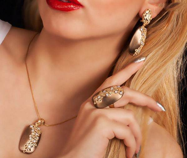 مدل های طلا جواهرات ایرانی برند Salia