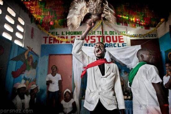 آداب و رسوم های ترسناک بین مردم هائیتی