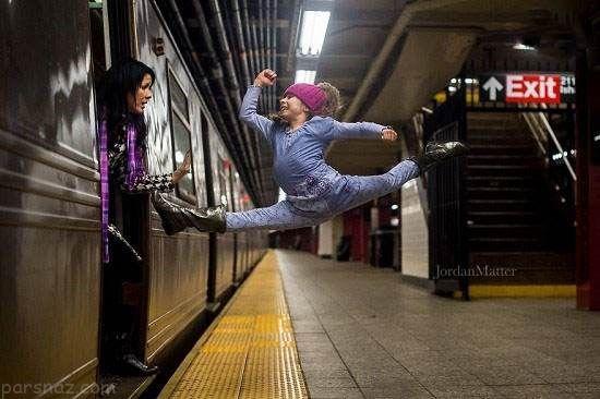 تصاویر حرکات رقص خارق العاده توسط کودکان