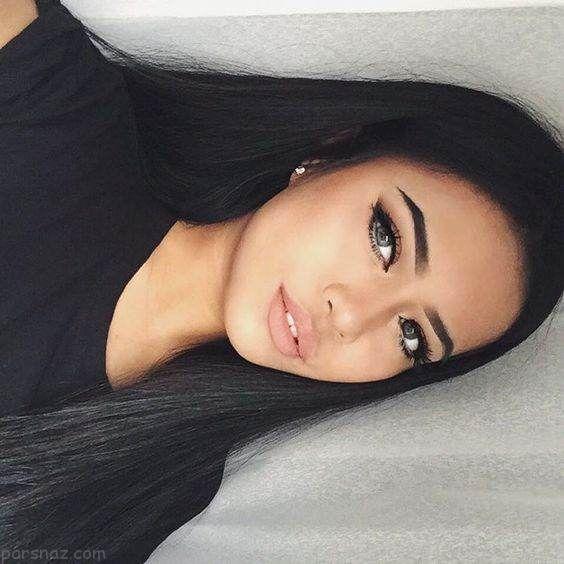 مدل آرایش صورت زیبا و جذاب بهار 2018