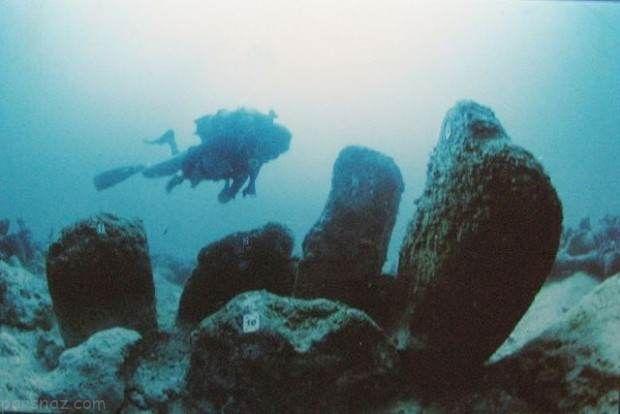 شهرهای باستانی مرموز که زیرآب مخفی شده اند