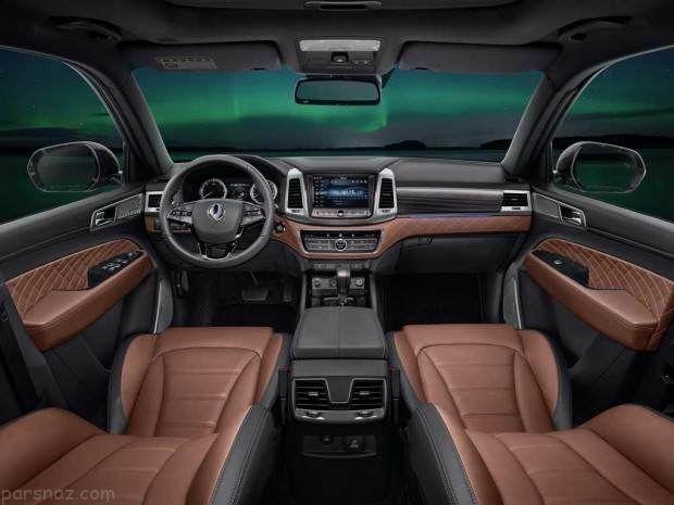 نگاهی به خودرو سانگ یانگ Rexton 2017