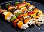 طرز تهیه کباب سبزیجات خوشمزه و سالم