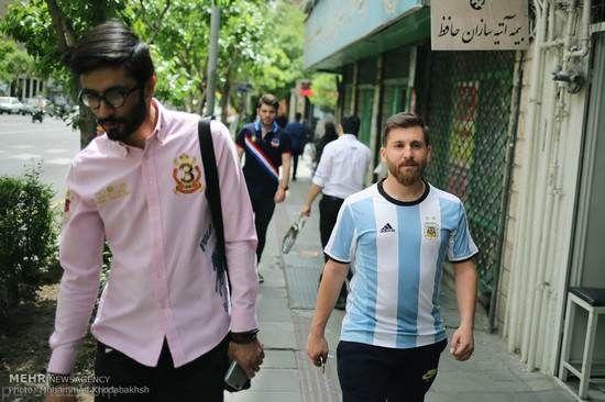 رضا پرستش بدل ایرانی لیونل مسی