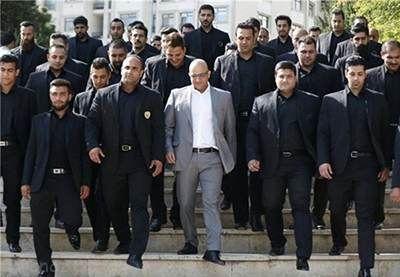 مردان سیاه پوش محافظان ستاره های ایرانی