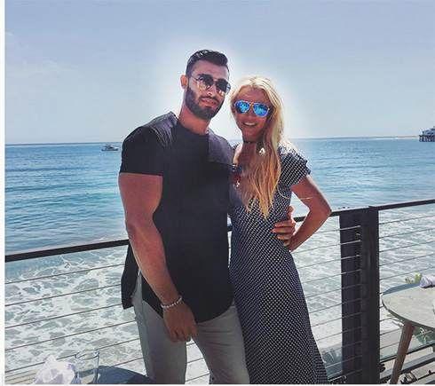 بریتنی اسپیرز از سام اصغری نامزد ایرانی اش باردار شد