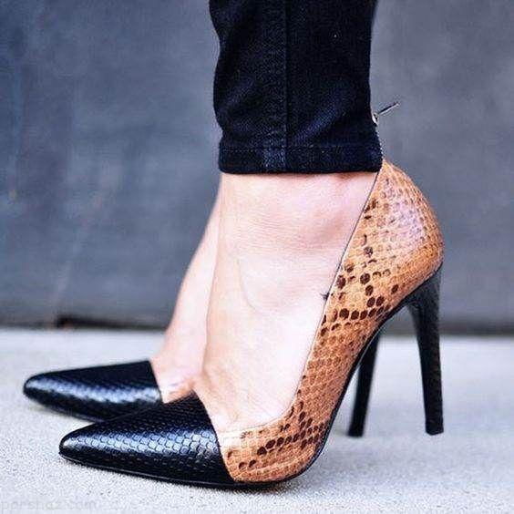 مدل های کفش پاشنه بلند زنانه بهاری 2018