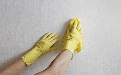 ترفند پاک کردن لکه دوده از روی دیوار خانه
