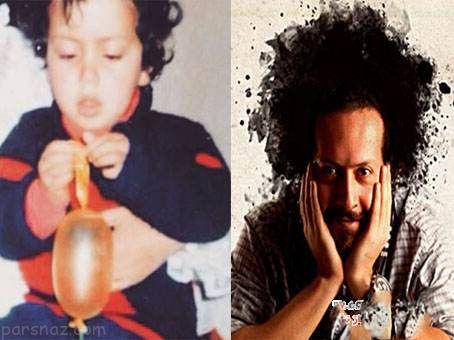 عکس های کمیاب دوران کودکی بازیگران و ستاره ها