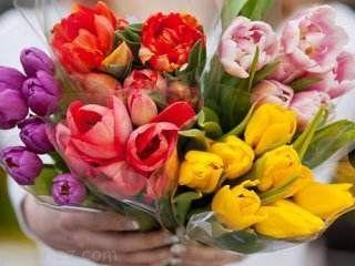 توجه به رنگ گل ها در هنگام هدیه دادن به افراد