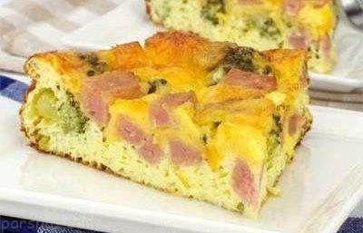 طرز تهیه تارت ژامبون و سبزیجات خوشمزه