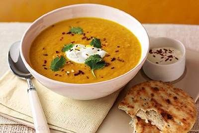 طرز تهیه سوپ رژیمی هویج و عدس خوشمزه