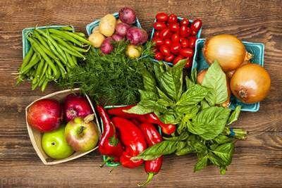 تا می توانید میوه و سبزیجات مصرف کنید