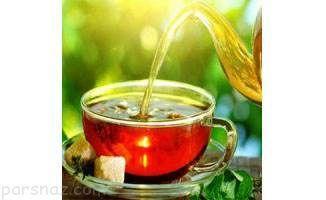 آیا چای که زود رنگ می دهد تقلبی است؟