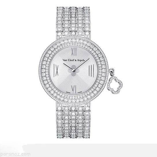 مدل های ساعت لاکچری از جنس الماس و طلا