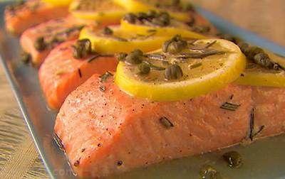 آموزش تهیه ماهی سالمون لیمویی خوشمزه