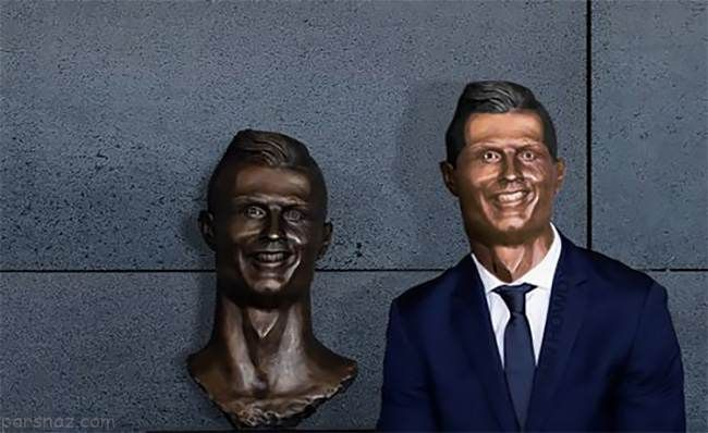 ماجرای مجسمه جنجالی رونالدو در پرتغال