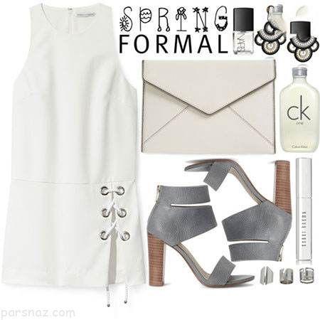 ست لباس زنانه شیک مخصوص فصل بهار