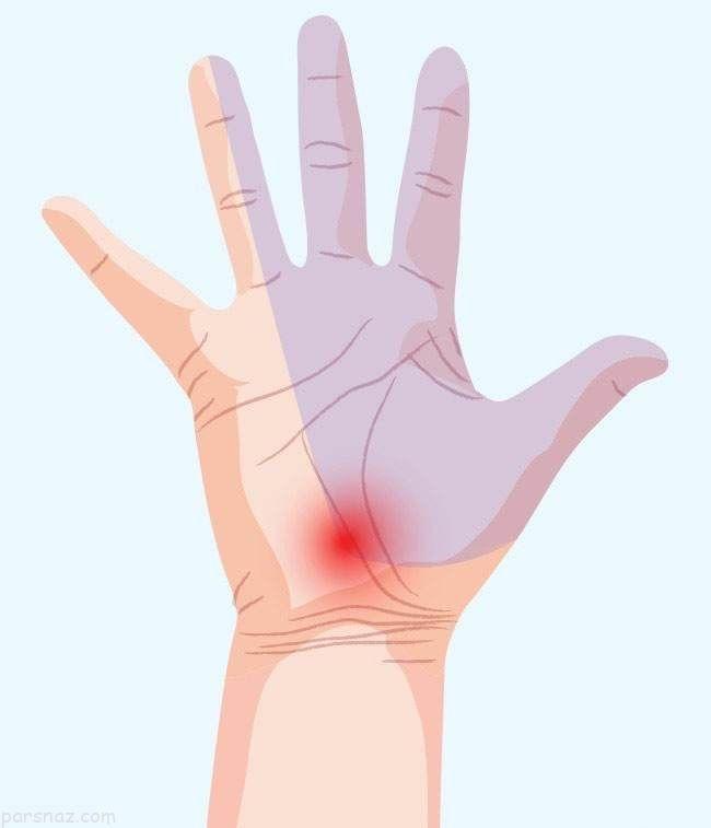 نشانه های سلامت بدن را در دست ها بیابید
