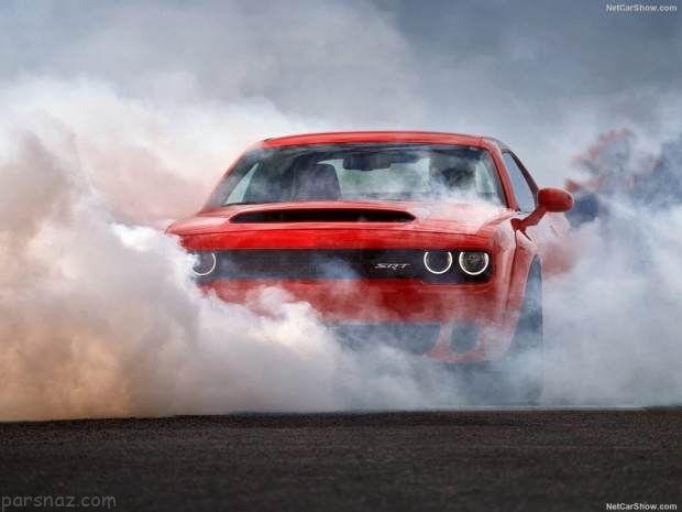 خودرو Dodge Challenger در نمایشگاه خودرو نیویورک