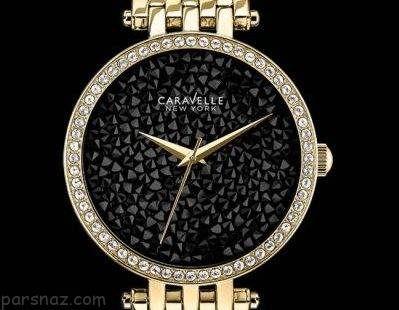 ساعت مچی زنانه شیک برند Caravelleny