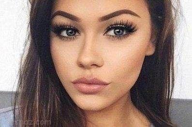 مدل آرایش صورت زیبا و جذاب بهار 2019