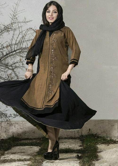 مدل مانتو و لباس زنانه زیبا و شیک از برند کورتى