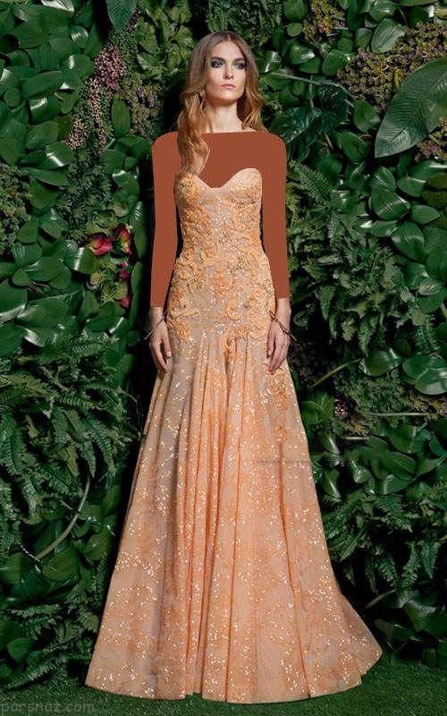 شیک ترین مدل لباس مجلسی برند Basil Soda