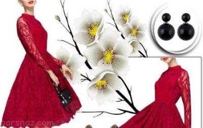ست های لباس زنانه برای مهمانی بهار 96