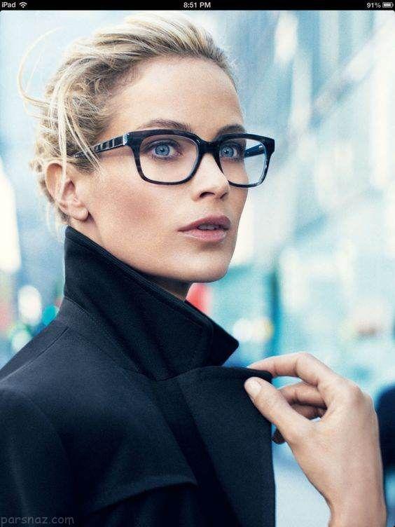 انواع مدل های جدید عینک طبی زنانه 2018