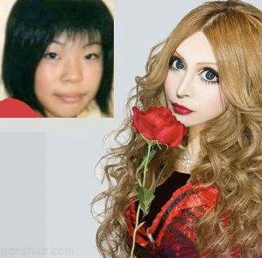 دخترانی که خود را به عروسک واقعی تبدیل کرده اند