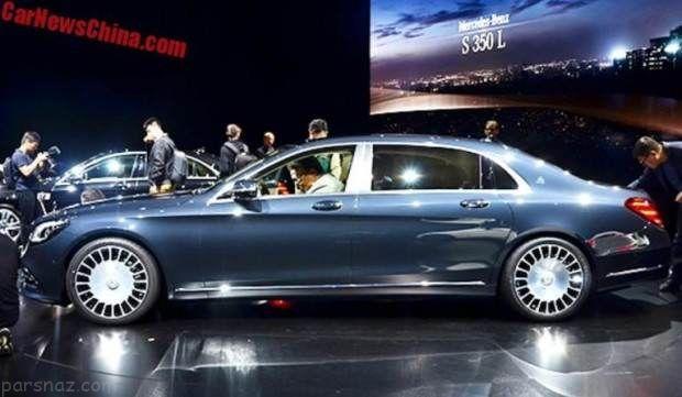 مرسدس بنز Maybach S680 در نمایشگاه خودرو شانگهای