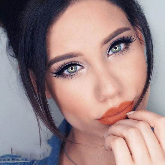 جذاب ترین مدل های آرایش صورت از Linda Stephanie