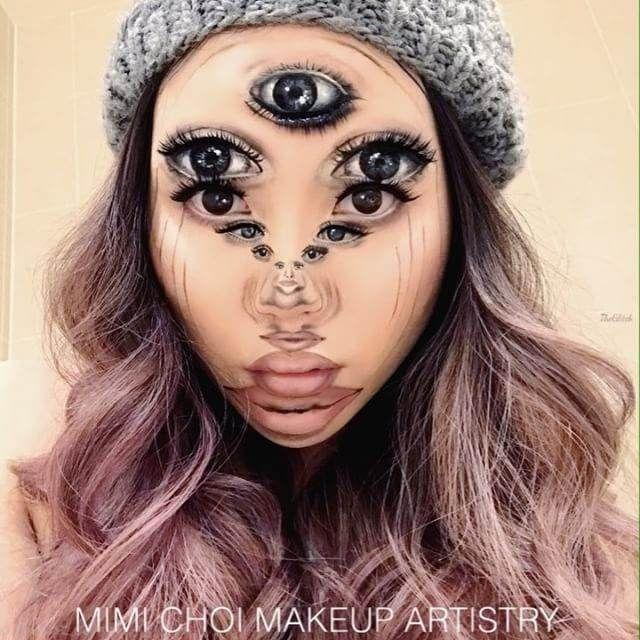 گریم و آرایش های سه بعدی باورنکردنی دختر کانادایی