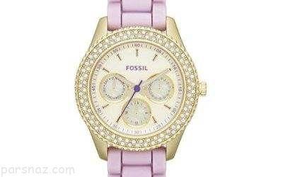 مدل های شیک ساعت زنانه برند Fossil