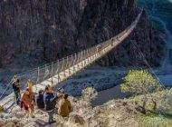 هیجان انگیزترین پل معلق ایران در خلخال