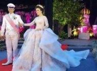 لباس عروس دختر اندونزیایی جنجال به پا کرد