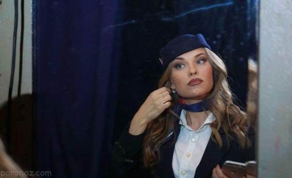 جذاب ترین زنان مهماندار روسیه انتخاب شدند