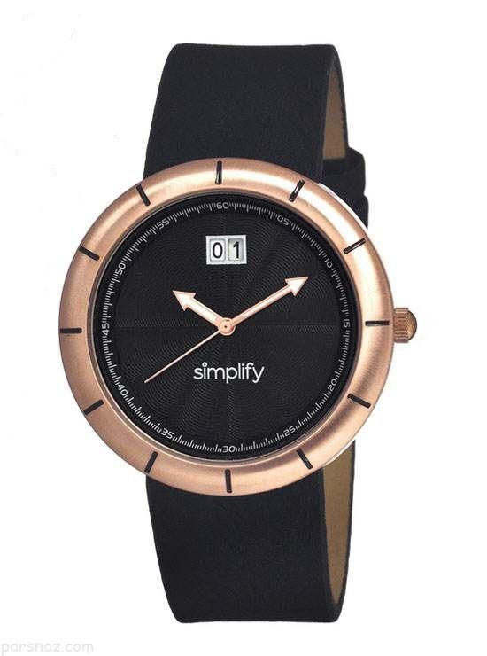 مدل های شیک ساعت مچی برند Simplify 2017